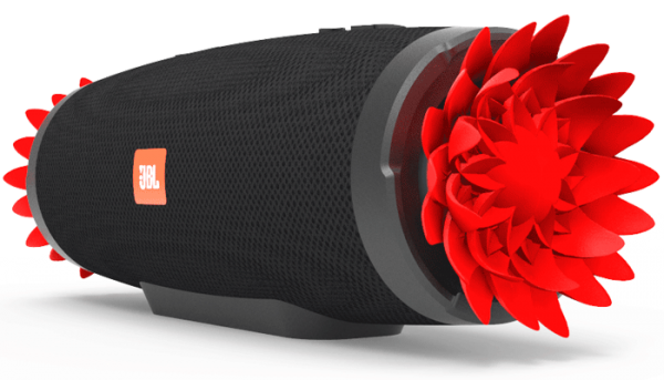 JBL Charge 3 Flowers 1